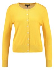 Banana Republic Cardigan Mustard Yellow