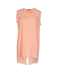 New York Industrie Tops Salmon Pink