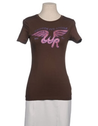 We Are Replay Short Sleeve T Shirts Dark Brown
