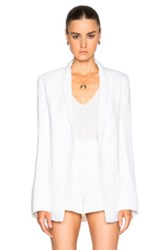 Galvan Summer Blazer In White