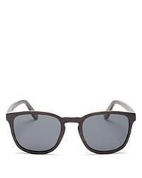 Finlay And Co. Bowery Mirrored Wooden Sunglasses 53Mm Wood Gray
