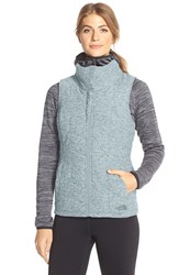 The North Face Women's 'Pseudio' Quilted Vest Tourmaline Blue Heather