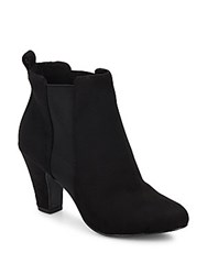 Bcbgeneration Donahue Faux Suede Ankle Boots Black