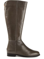 Anna Baiguera Riding Boots Grey