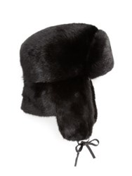 The Fur Salon Mink Trapper Hat