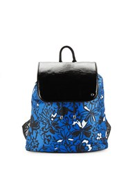 Le Sport Sac Drawstring Backpack Skyline Blue