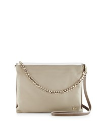 Colorblock Leather Crossbody Clutch Bag Fatigue Multi Halston Heritage