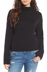 Women's Bp. Fuzzy Funnel Neck Sweater
