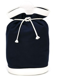 Hermes Vintage Sailor Backpack Blue