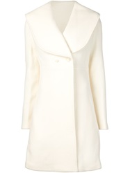 J.W.Anderson J.W. Anderson Oversize Notched Collar Coat White