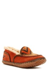Sorel Tremblant Blanket Ii Faux Fleece Lined Moccasin Orange