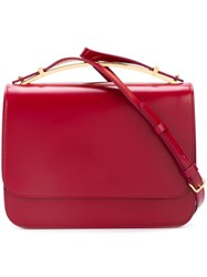 Marni Flap Crossbody Bag Red