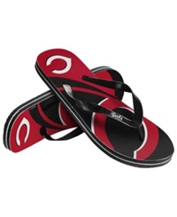 Coveroo Forever Collectibles Cincinnati Reds Thong Sandals