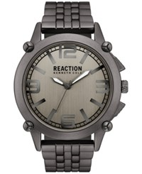 Kenneth Cole Reaction Men's Gunmetal Bracelet Watch 49Mm 10030948