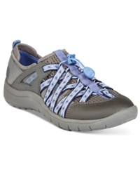 Bare Traps Polla Athletic Sneakers Women's Shoes Dark Grey Lavender