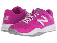 New Balance Wc696v2 Pink Grey Women's Tennis Shoes