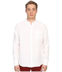 Billy Reid Johnathon Shirt White