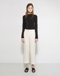 The Row Floc Pant Off White