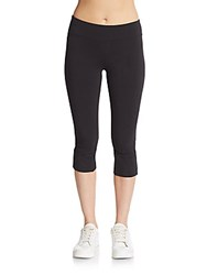 Andrew Marc New York Twisted Cuff Leggings Black