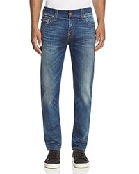 True Religion Rocco Flap Pocket Slim Fit Jeans In Dusty Rider