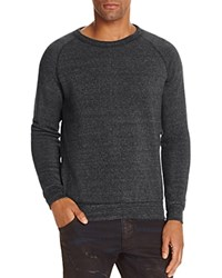 Alternative Apparel The Champ Fleece Crewneck Sweatshirt Eco Black