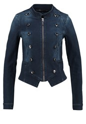 Only Onlswifty Denim Jacket Dark Blue Denim Dark Blue Denim
