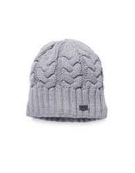 Under Armour Around Town Cable Knit Beanie Grey