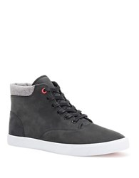 Bucketfeet Momentum Leather Lace Up Boots Black