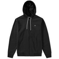 Lacoste Full Zip Hoody Black