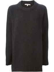 Hache Crew Neck Sweater Grey
