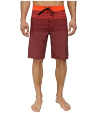 Prana Sediment Short Electric Orange Men's Swimwear