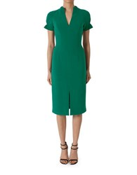 Black Halo Patel Sheath Dress Jade