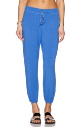 Michael Stars Drawstring Sweatpant Blue