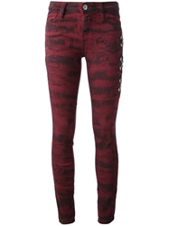 Each X Other Printed Jean Red