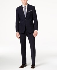Kenneth Cole New York Men's Navy Slim Fit Performance Suit