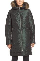 Helly Hansen Women's 'Ylva' Water Repellent Down Parka With Faux Fur Trim