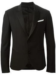 Neil Barrett Smoking Jacket Black