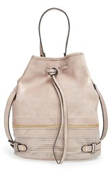 She Lo 'Silver Lining' Drawstring Shoulder Bag