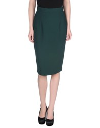 Andrea Incontri Skirts Knee Length Skirts Women Green