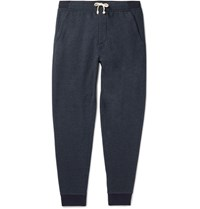 J.Crew Cassic Tapered Feece Back Cotton Bend Jersey Sweatpants Navy