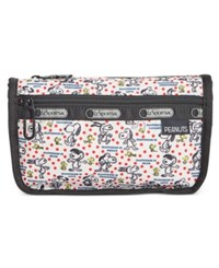 Le Sport Sac Lesportsac Peanuts Collection Travel Cosmetic Bag Happiness Dots
