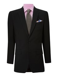 Chester Barrie Albemarle Suit With Two Pairs Of Trousers Black