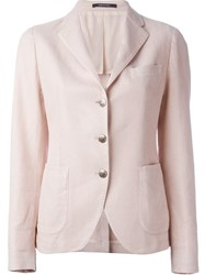 Tagliatore Classic Casual Blazer Pink And Purple