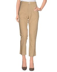 Bsbee Trousers Casual Trousers Women Beige