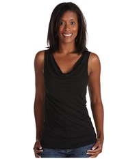 Michael Stars Drape Tank Black Women's Sleeveless