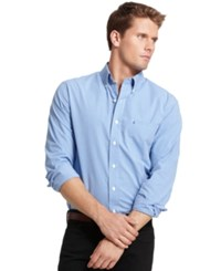 Izod Long Sleeve Checkered Essential Shirt American Dream