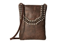 Leather Rock Hk22 Chocolate Handbags Brown
