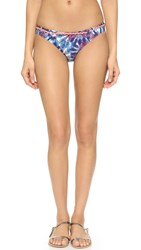 Minkpink Flash Back Belted Bikini Bottoms Multi
