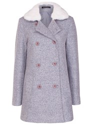 Sugarhill Boutique Becky Coat Blue