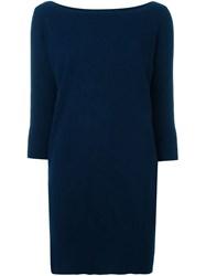 Jay Ahr Knitted Dress Blue